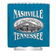 Nashville Tennessee Design Shower Curtain