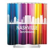 Nashville Tn 2 Squared Shower Curtain