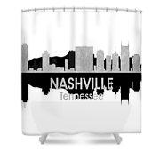 Nashville Tn 4 Squared Shower Curtain