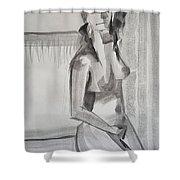 Natasha 1 Shower Curtain