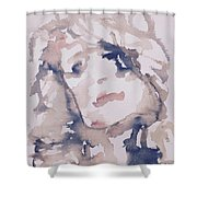 Natashia IIi Shower Curtain by Khalid Alzayani