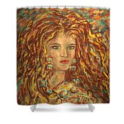 Natashka Shower Curtain