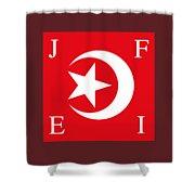 Nation Of Islam Flag Shower Curtain