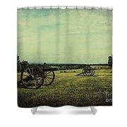 National Battlefield Park - Manassas Va Shower Curtain