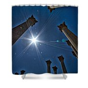 National Capitol Columns #2 Shower Curtain