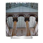 National Columns Shower Curtain
