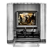 National Gallery Of Art Interiour 3 Shower Curtain