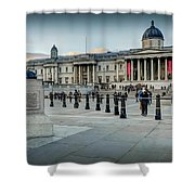 National Gallery Trafalgar Square Shower Curtain