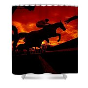 National Hunt, Ireland Shower Curtain