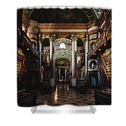 National Library, Vienna Shower Curtain