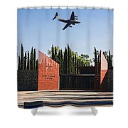 National Medal Of Honor Memorial Fly Over Shower Curtain