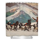 National Park Service - North Country Shower Curtain