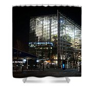 National Seaquarium In Lights Shower Curtain