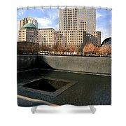 National September 11 Memorial New York City Shower Curtain
