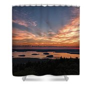 National Sunrise Shower Curtain
