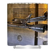 National Transonic Facility Space Shuttle Model Gpn 2000 001914 Shower Curtain