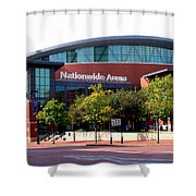 Nationwide Arena Shower Curtain