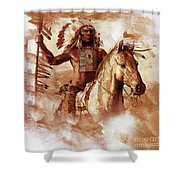 Native American 093201 Shower Curtain