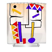 Native American Design Shower Curtain