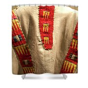 Native American Great Plains Indian Clothing Artwork 09 Shower Curtain