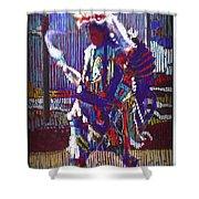 Native American - Male Fancy Dancer #4 Shower Curtain