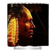 Potawatomi Chief Shower Curtain