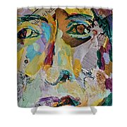 Native American Reflection Shower Curtain