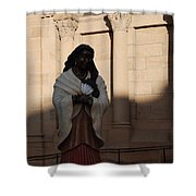 Native American Saint Shower Curtain
