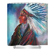 Native Blessings Shower Curtain