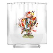 Native Rhythm Shower Curtain