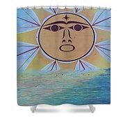 Native Sun Shower Curtain