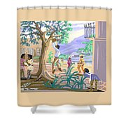 Natives Of St. Thomas Shower Curtain