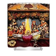 Natividad  Shower Curtain