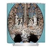 Nativity Barcelona Shower Curtain