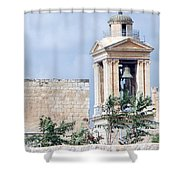 Nativity Church Bells Shower Curtain