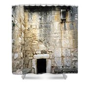 Nativity Church Shower Curtain