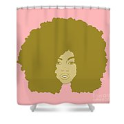 Natural 3 Shower Curtain
