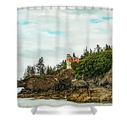 Natural Arch At Lighthouse Point Shower Curtain