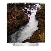 Natural Bridge Gorge Shower Curtain