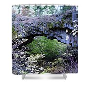 Natural Bridge Two   Shower Curtain