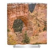 Natural Bridge - Vertical Shower Curtain