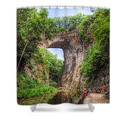 Natural Bridge - Virginia Landmark Shower Curtain