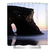 Natural Bridges Detail Shower Curtain
