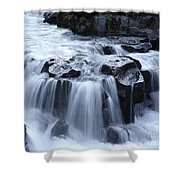 Natural Bridges Falls 02 Shower Curtain