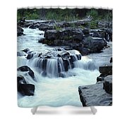 Natural Bridges Falls 03 Shower Curtain