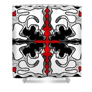 Natural Chaos Abstract Bliss Design By Omashte Shower Curtain