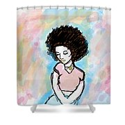 Natural Chic Shower Curtain