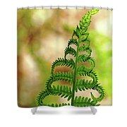 Natural Curls Shower Curtain