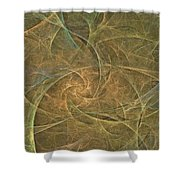 Natural Forces- Digital Wall Art Shower Curtain