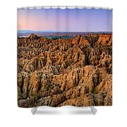 Natural Monument Carcavas Del Marchal II Shower Curtain